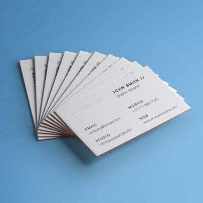 Exemple De Cartes Visite Professionnelles Epaisses