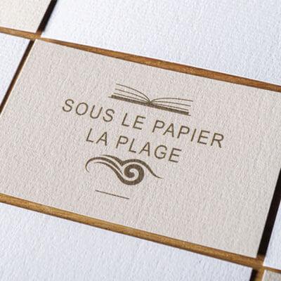 Exemple De Cartes Visite Sur Papier Spcial